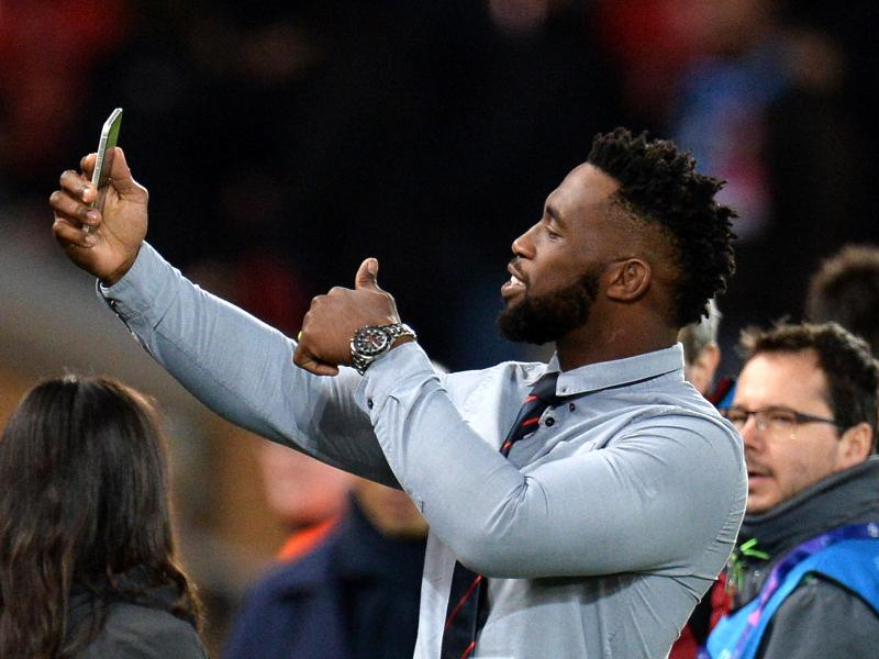 🇿🇦🏆🔴📹 WATCH: Springboks captain Siya Kolisi beams with excitement at Liverpool's Anfield Stadium