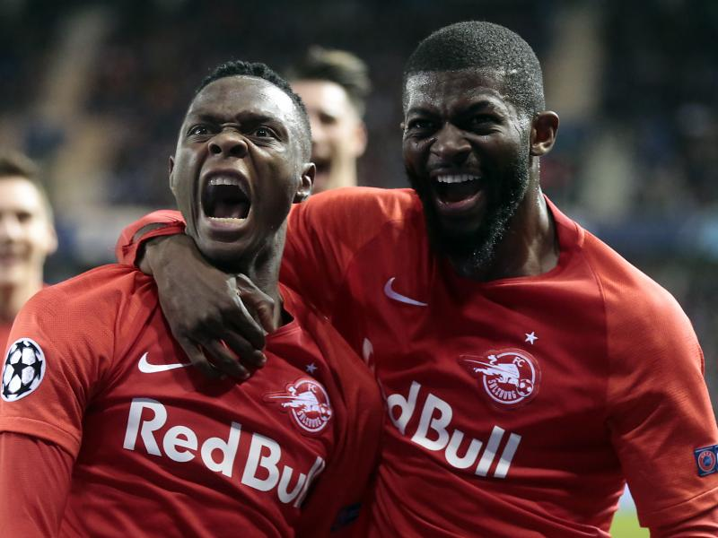 Patson Daka scores in Salzburg big win