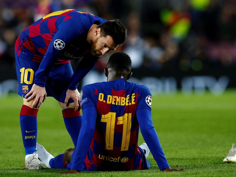 Liverpool in talks with Barcelona's Ousmane Dembele