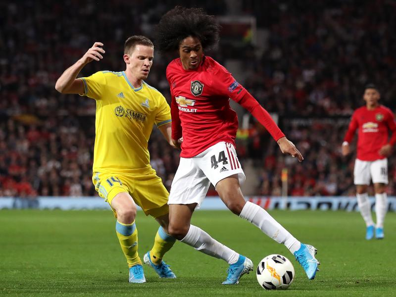Ole Gunnar Solskjaer reveals what Tahith Chong did in the dressing room after Astana defeat