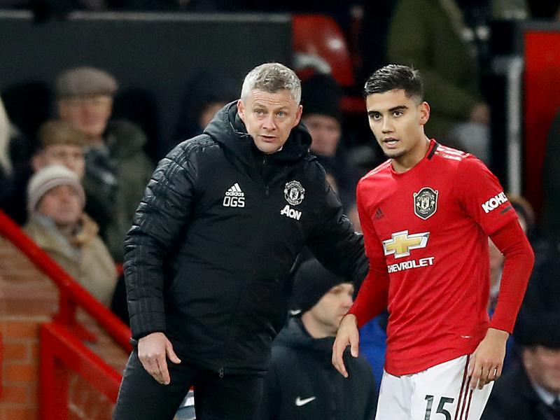 Andreas Pereira hails Ole Gunnar Solskjaer for giving youth a chance