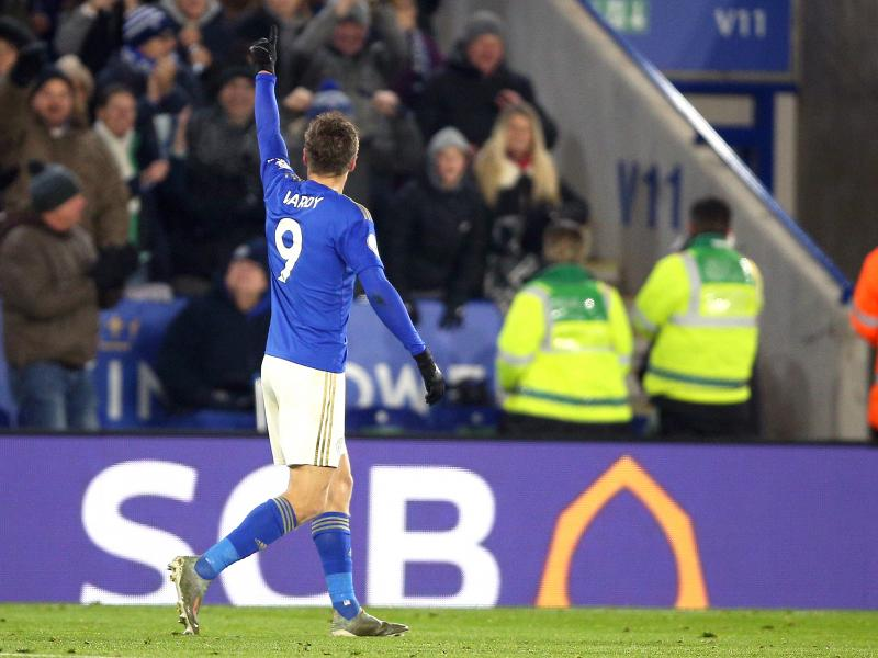 Jamie Vardy backed to reach century of goals with Leicester City by Brendan Rodgers