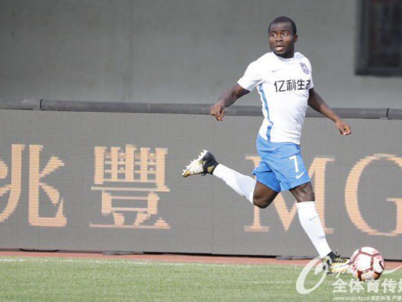 🇬🇭🇨🇳 Frank Acheampong finishes Chinese Super League season on a high