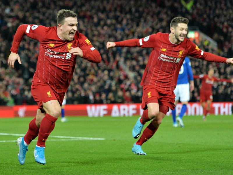 Liverpool 5-2 Everton:The Reds remain eight points clear