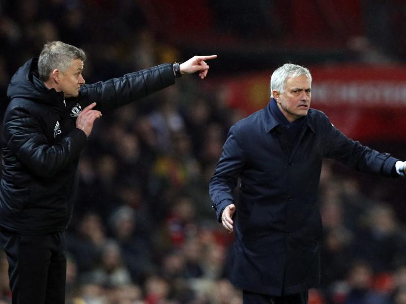 Ole Gunnar Solskjaer reveals Jose Mourinho's reaction after loss to Manchester United