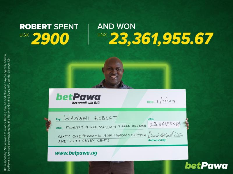 250% win bonus adds up to UGX 23,361,955.67 for betPawa customer