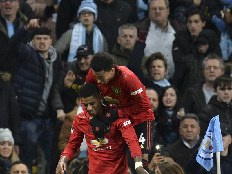 Man City 1-2 Manchester United: Ole's men win 179th derby