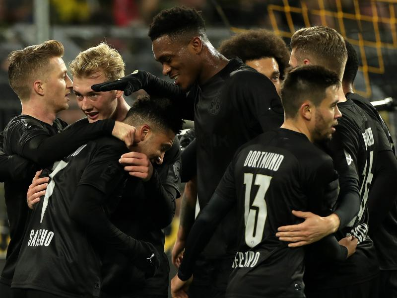 PHOTOS: Borussia Dortmunds' all-black kit that has caused an online stir