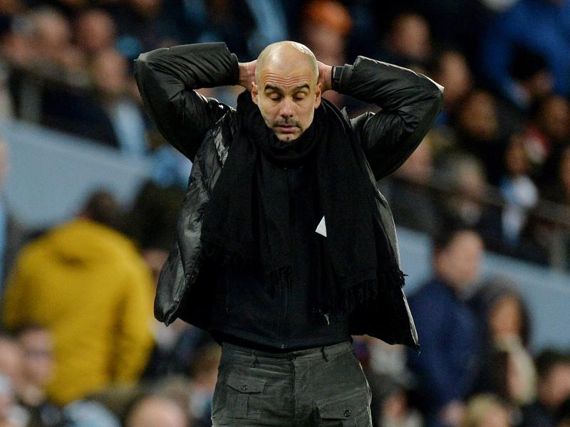 Throwing in the towel? Beaten Guardiola unsure of catching up with runaway leaders Liverpool