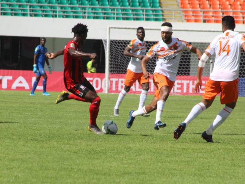 CAF CC: Zanaco held by Berkane