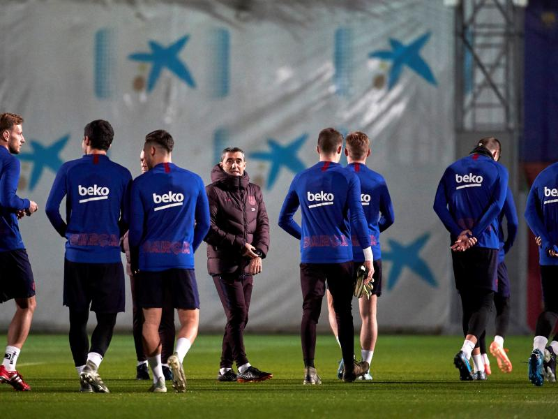 Revealed: Barcelona squad to take on Real Sociedad