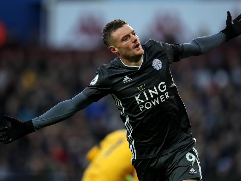 Premier League top scorers: Red-hot Vardy extends lead at the top as Rashford hits double figures