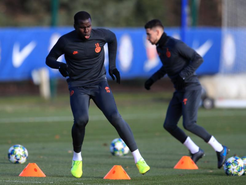 Chelsea duo miss Monday training ahead of crucial Champions League tie against Lille