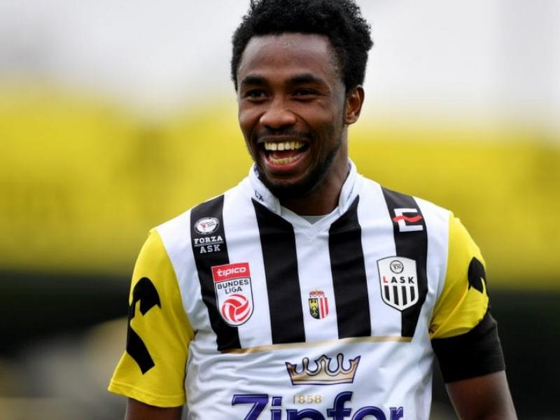 Samuel Tetteh is set to return to Red Bull Salzburg at the end of the season