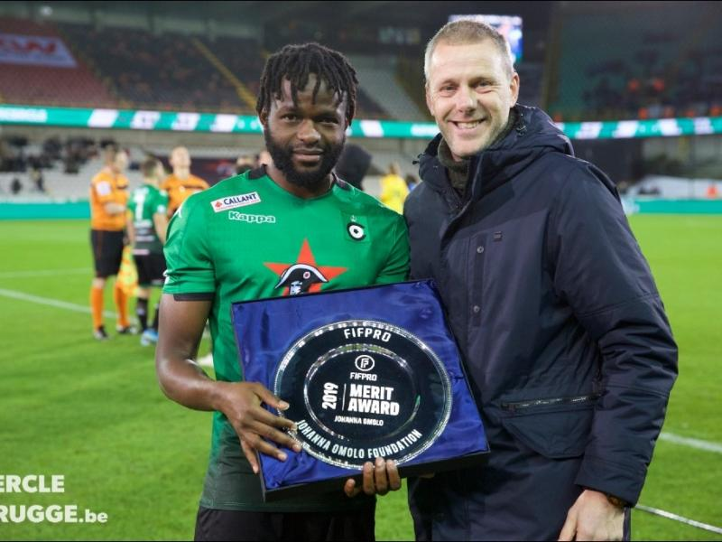 Johanna Omollo FIFPRO Parade ends with Injury as Samatta's Genk beat Brugge