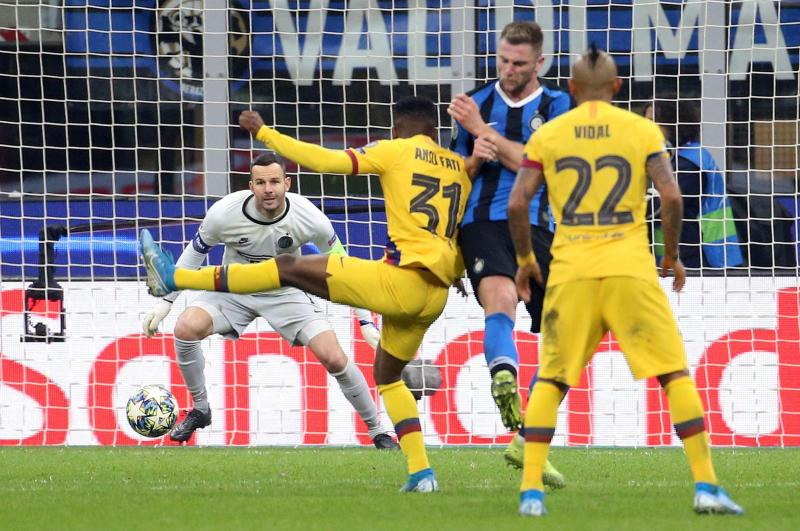 🏆📝 Champions League wrap-up: Fati makes history, Dortmund sneak through to round of 16