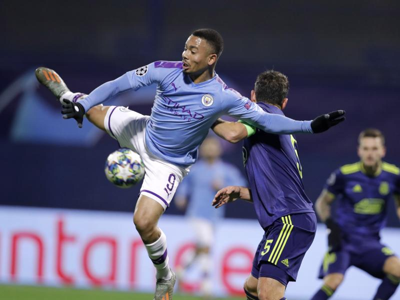 Zagreb 1-4 Manchester City: Citizens top Group C as Shaktar drop to Europa League