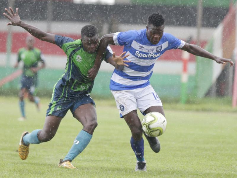AFC Leopards 0-0 KCB: Spoils shared in rainy Afraha