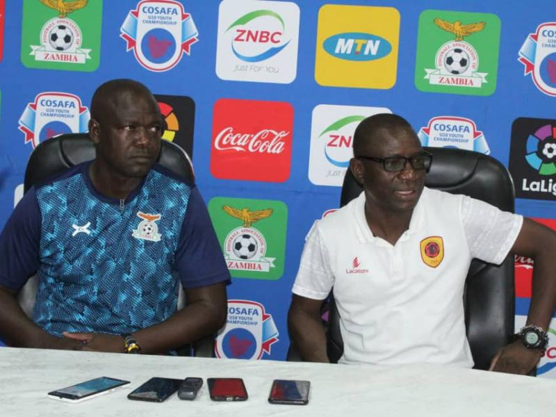 🇿🇲 🇦🇴 U20 COSAFA: Mutapa describes semifinal clash with Angola as a mini-final