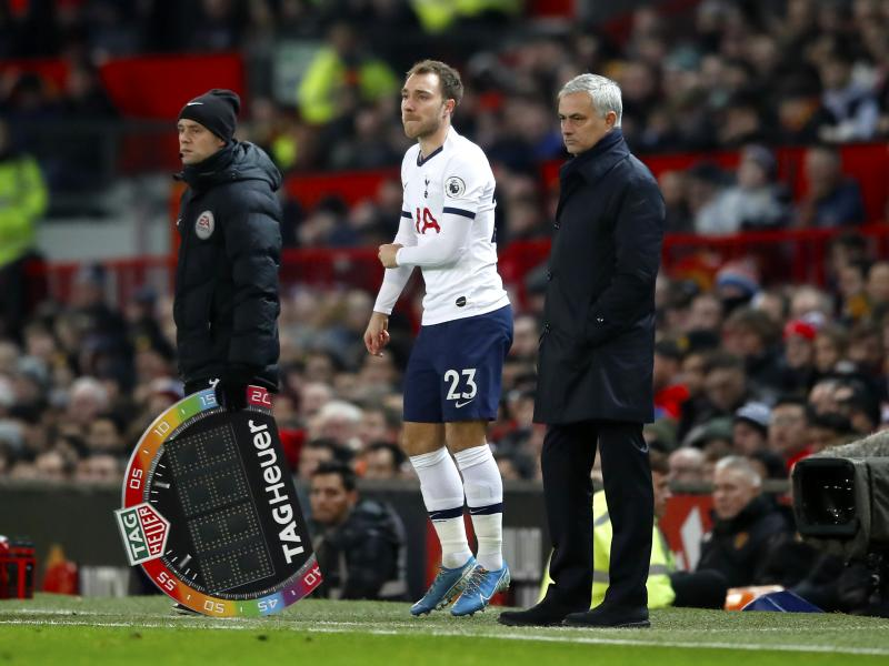 Mourinho refuses to comment on Eriksen's future