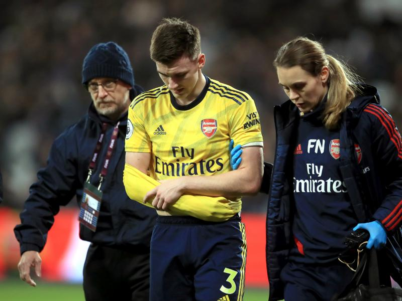 Arsenal suffer massive blow as surgery rules out Kieran Tierney for three months