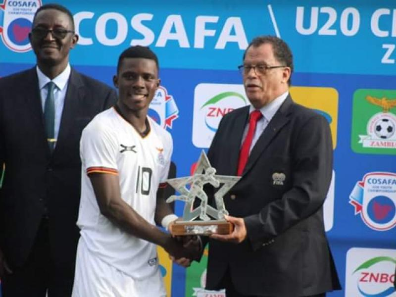 🇿🇲  COSAFA U-20: Patrick Gondwe heading to Spain for trials after winning player of the tournament