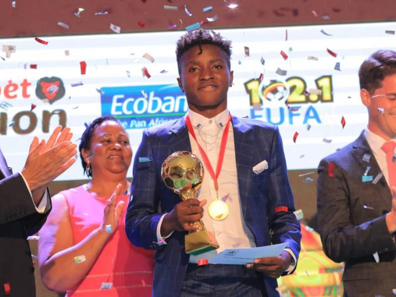 🇺🇬 Okello named male player of the year