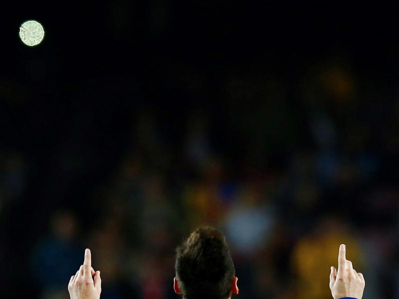 🔥 Messi makes it 50 goals in a calendar year for Barcelona