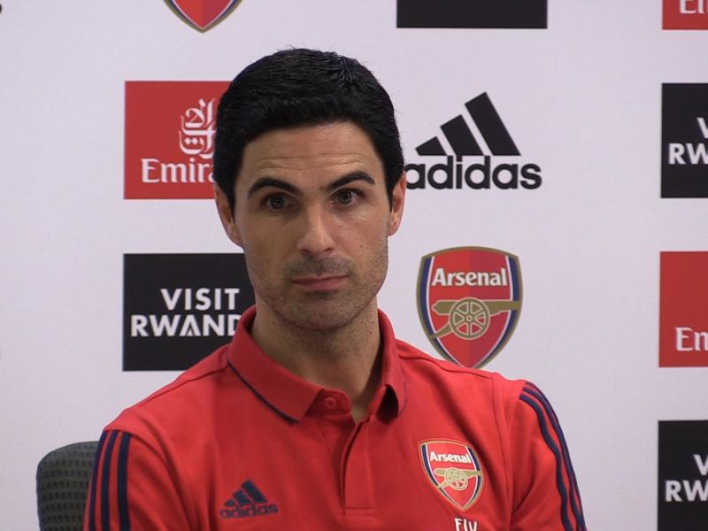 Arteta ready for 'strange' meeting against Everton