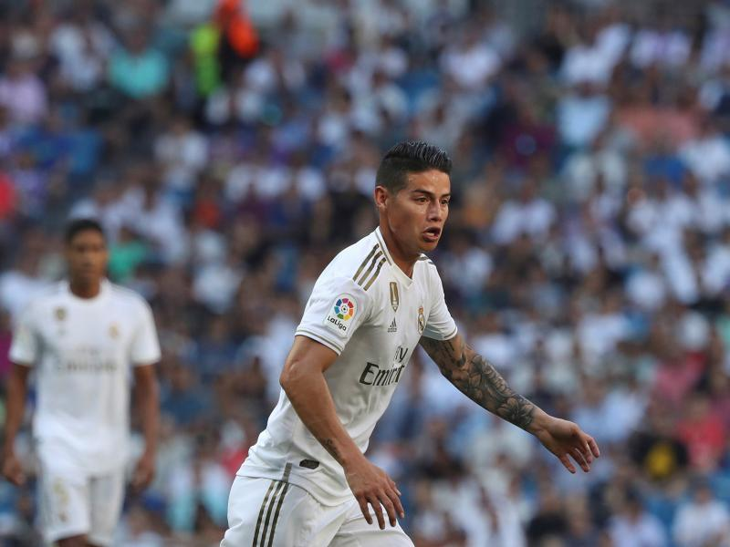 Reports: Everton in pole position to sign James Rodriguez from Real Madrid