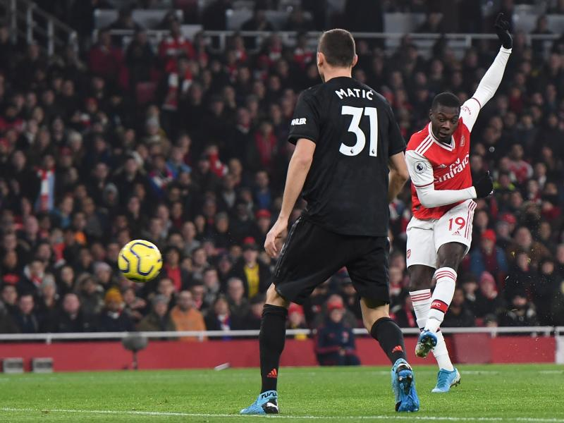 Arsenal 2-0 Manchester United: Pepe, Sokratis hand Arteta first win against Red Devils