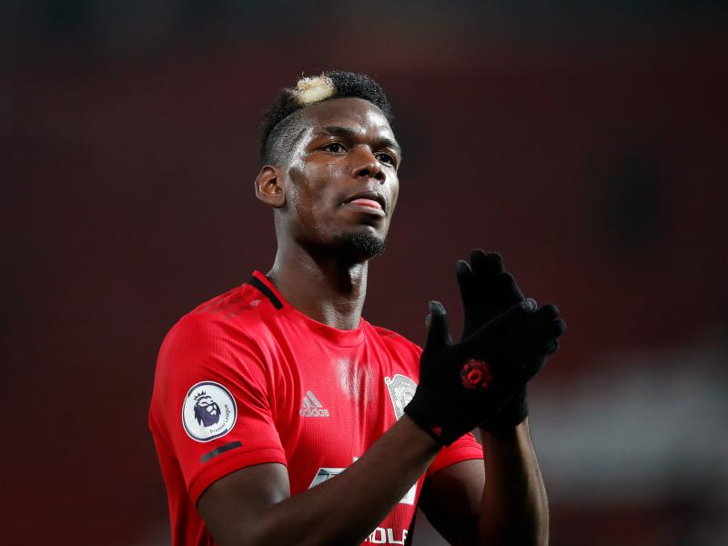 Paul Pogba joins Martial in unveiling new unexpected look