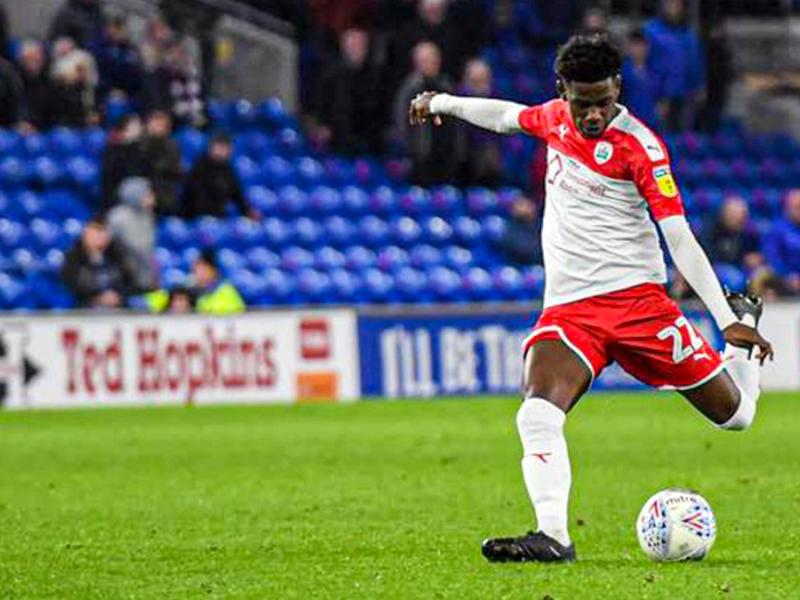 Fifth start for Kenyan defender as Barnsley fall to Derby County