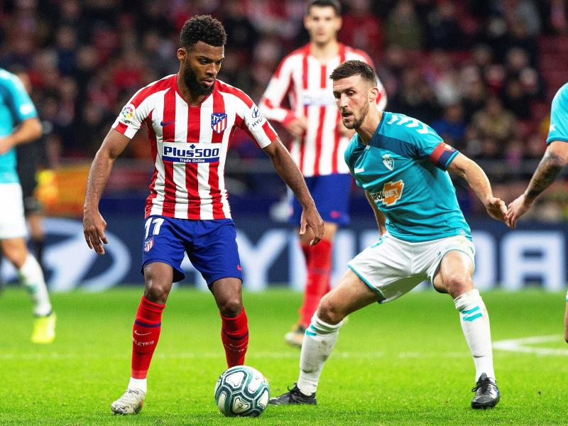 Arsenal handed a boost by Diego Simeone in Thomas Lemar chase