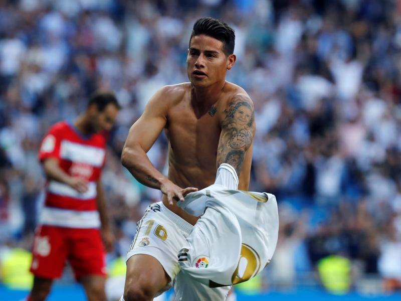 Arsenal, Everton to battle for Real Madrid star
