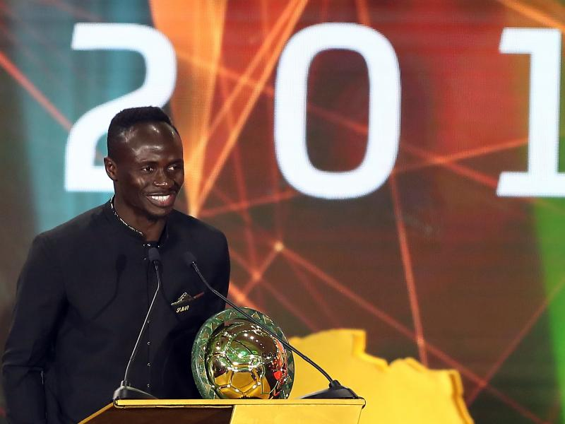 Mohamed Salah's message to Liverpool teammate Sadio Mane after he won the CAF Award