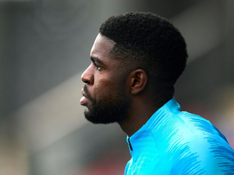 Samuel Umtiti to fight for Barcelona place despite Lyon interest