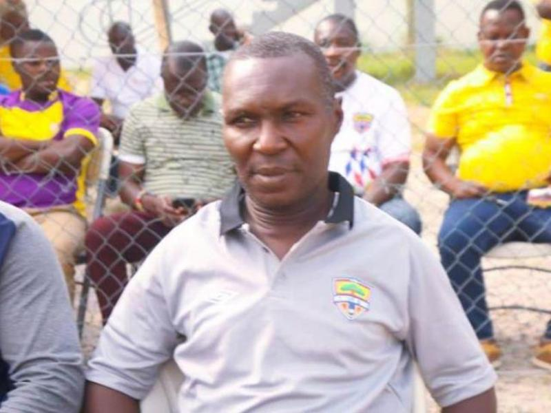 Hearts of Oak interim coach Edward Nii Odoom backed by club's management