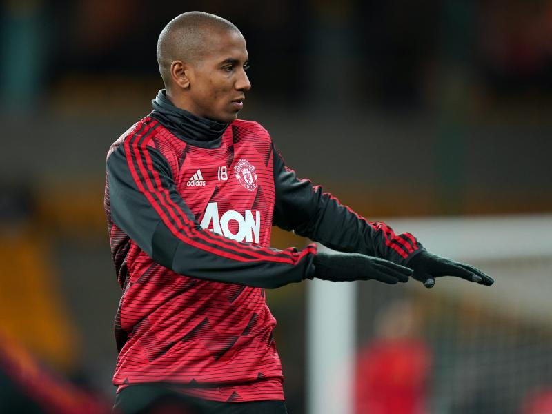 Solskjaer rules Ashley Young out of Wolves clash