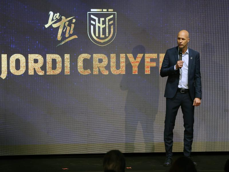 🇪🇨 Ecuador national team appoint Jordi Cruyff as head coach