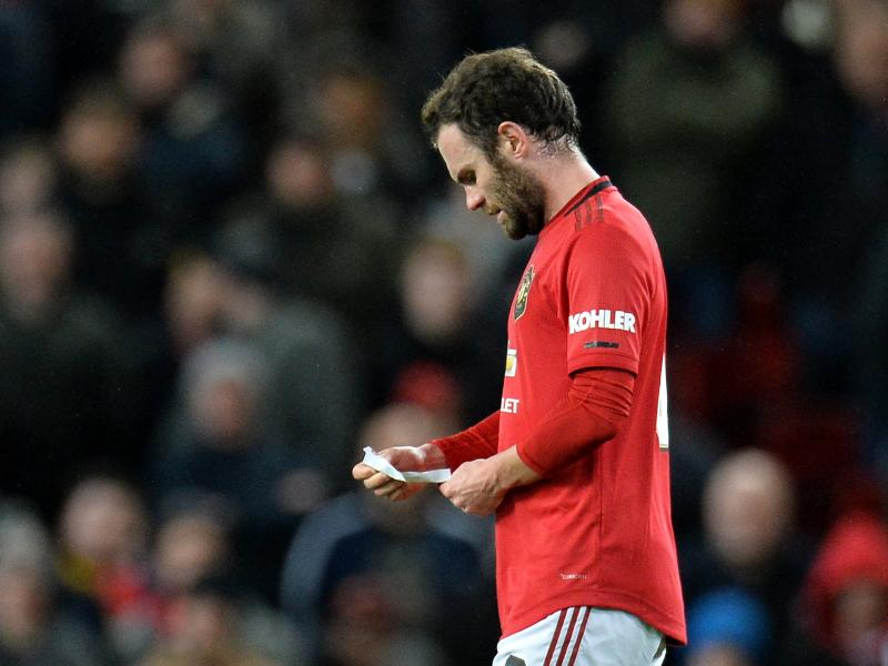Man United suffer Juan Mata injury setback