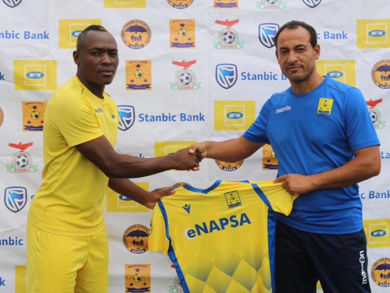 🇿🇲 Napsa Stars sign Kaseba and Adoko