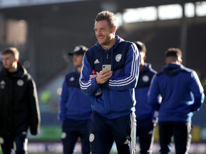 Jamie Vardy on the bench as Leicester welcome Aston Villa