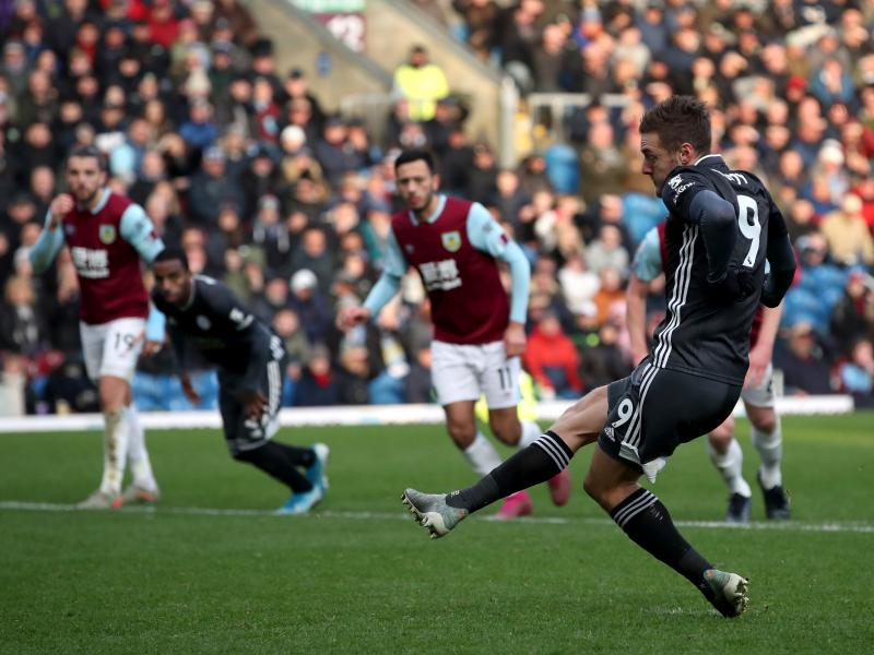 Burnley 2-1 Leicester City: Hosts end four match winless streak after Vardy's penalty miss