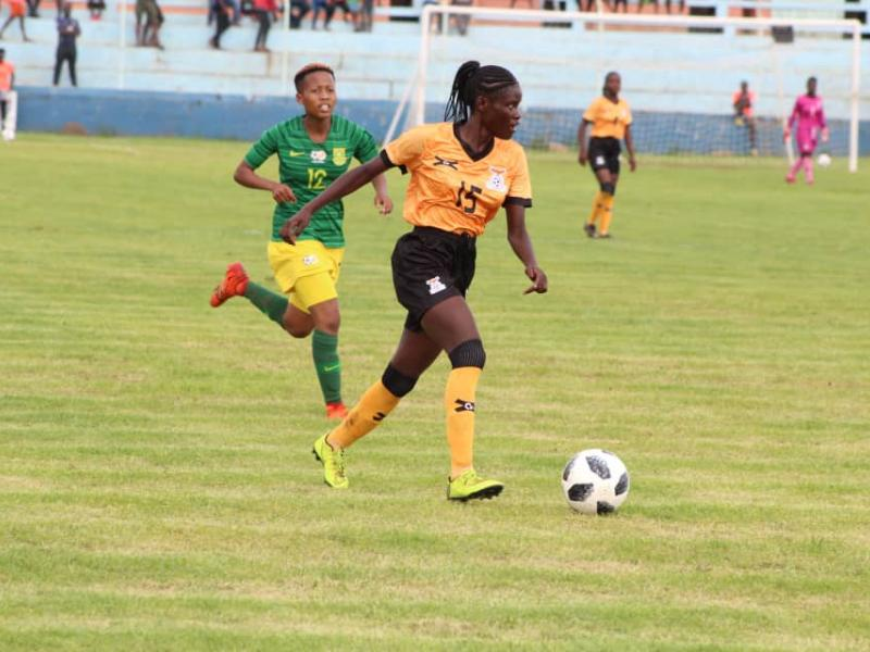 🇿🇲 🇿🇦 U20 Women's WCQ's: Haalubono optimistic of qualification to the second round despite first-leg loss
