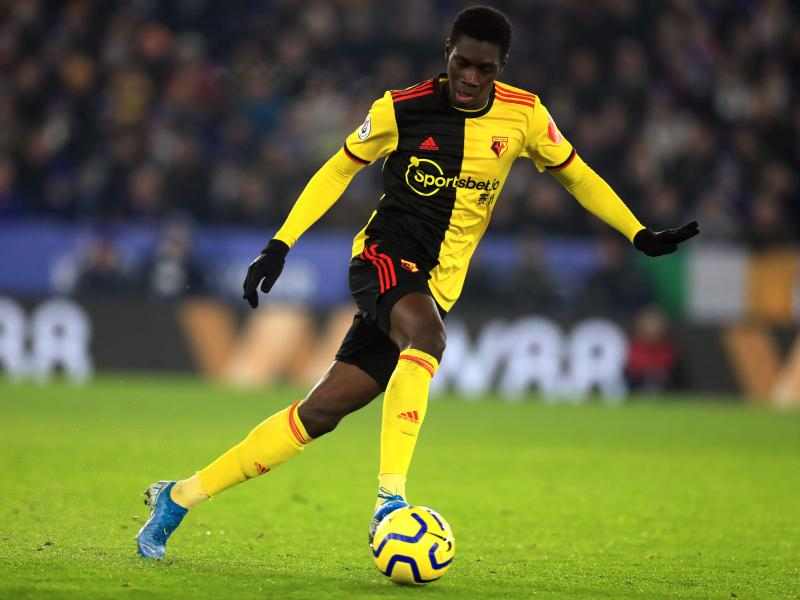Crystal Palace ready to raid relegated Watford for striker Ismaila Sarr