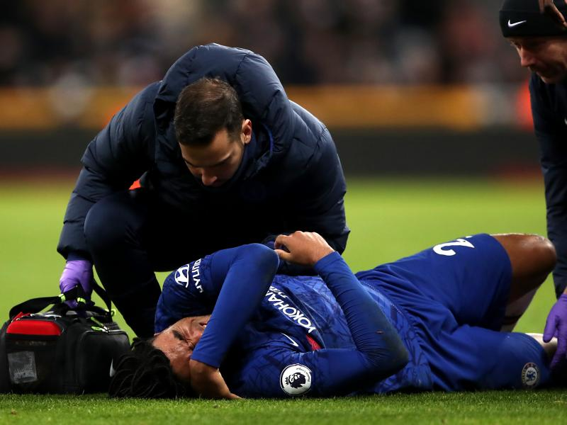 Lampard provides injury update on a number of his stars ahead of Arsenal tie