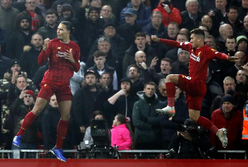 Virgil van Dijk speaks on decision to rule out Firmino's goal against Manchester United