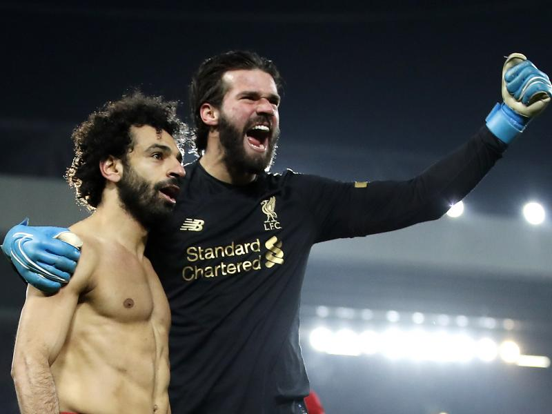 Liverpool boss Klopp hails goalkeeper Alisson