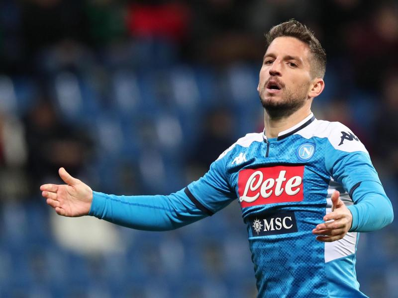 Reports: Man United weighing up Dries Mertens move